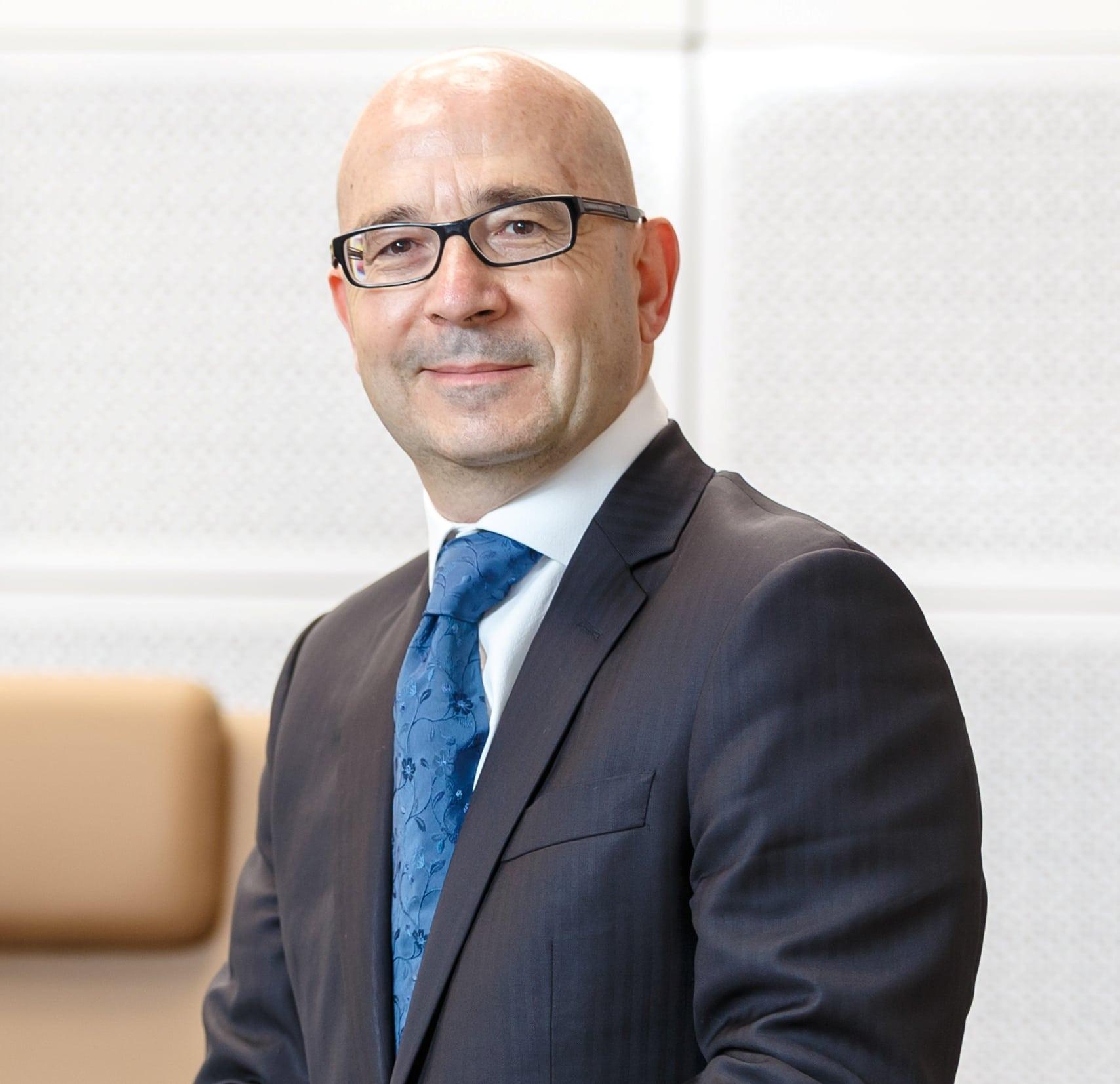 Philippe Garcet, CEO Societe Generale European Business Services