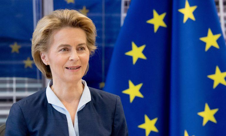 Ursula von der Leyen - piața neagră