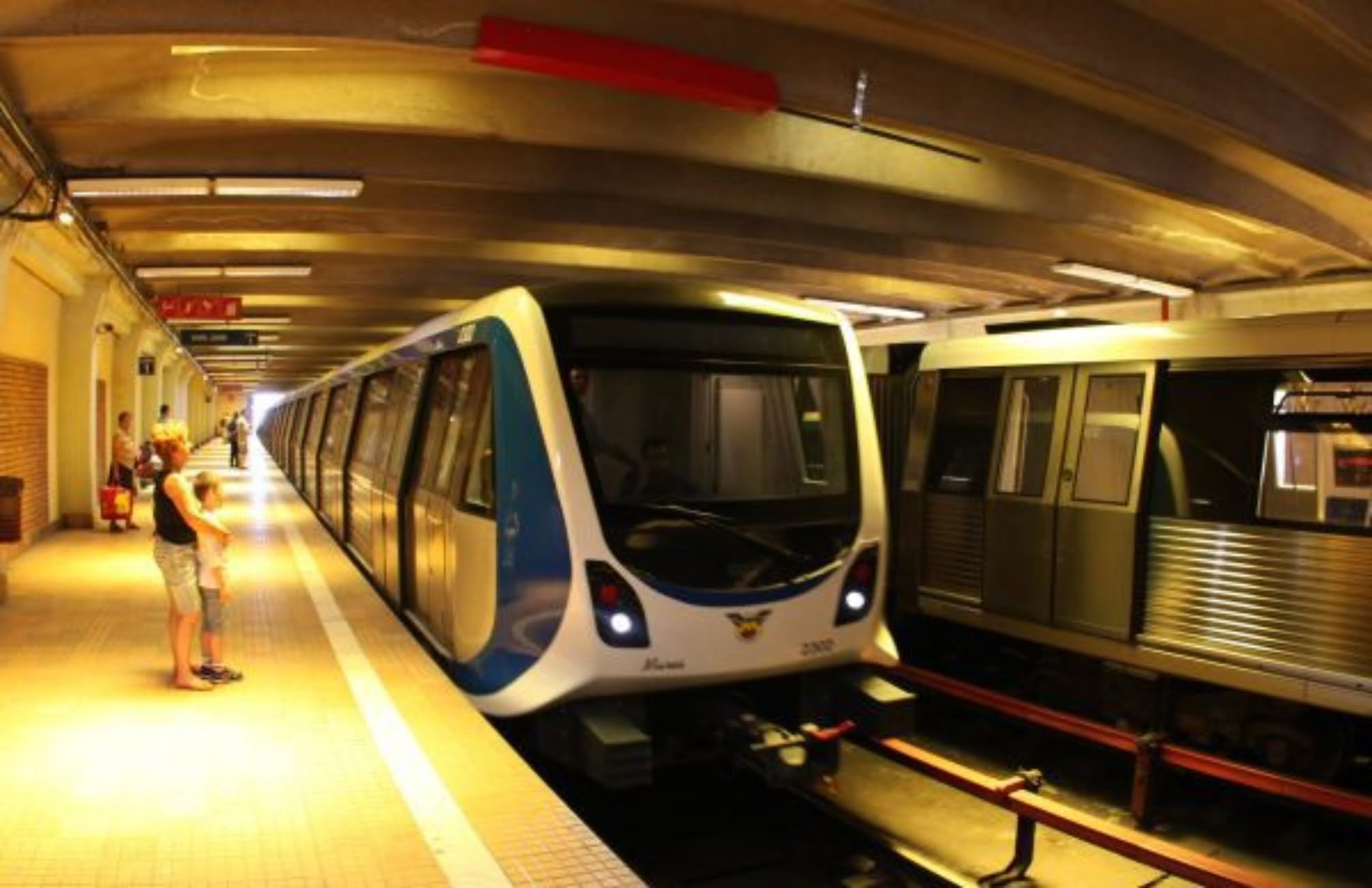 călătoria cu metroul