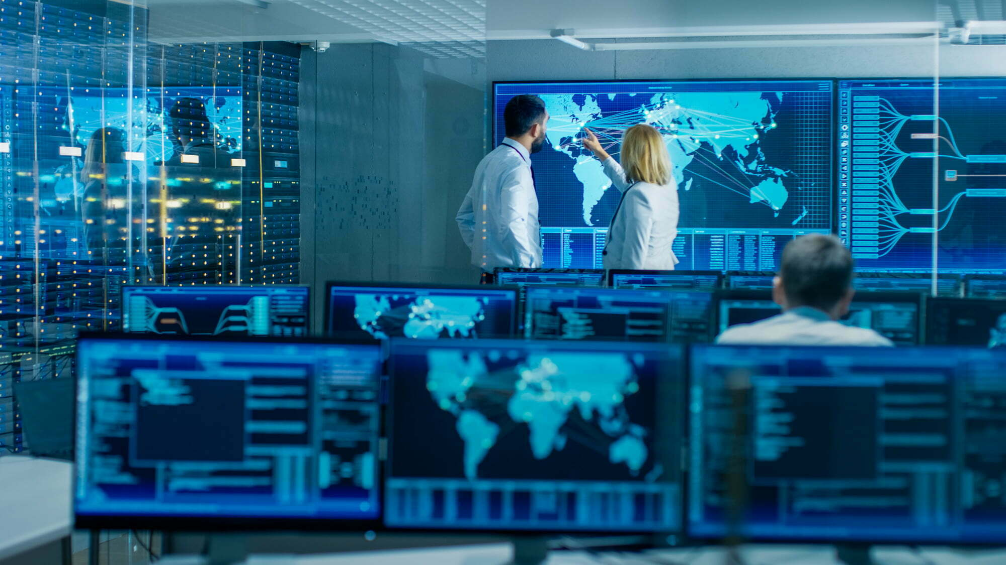 centrul cyber bucuresti - foto serviciul roman de informatii